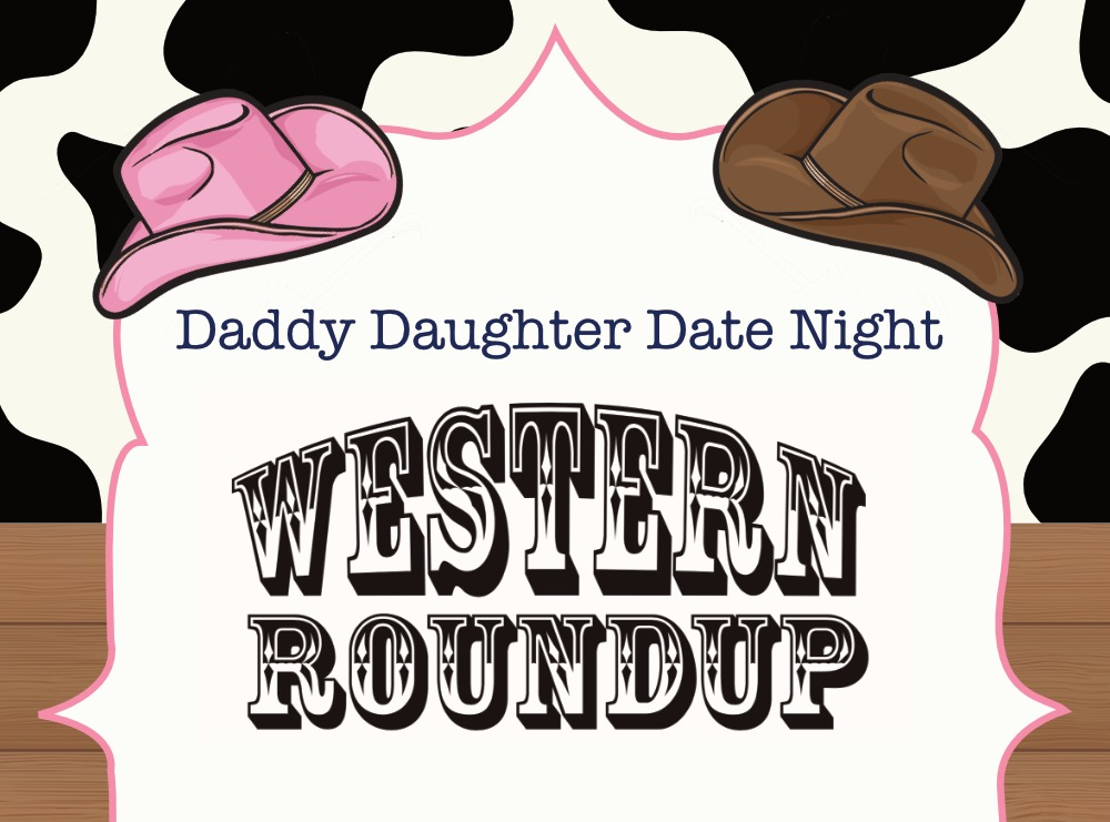 Daddy daughter date night clip art